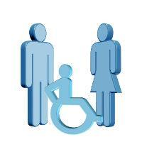 При уходе за ребенком-инвалидом