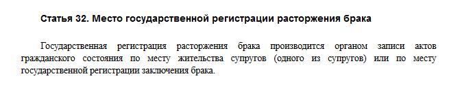 Федеральный закон № 143-ФЗ, статья 32