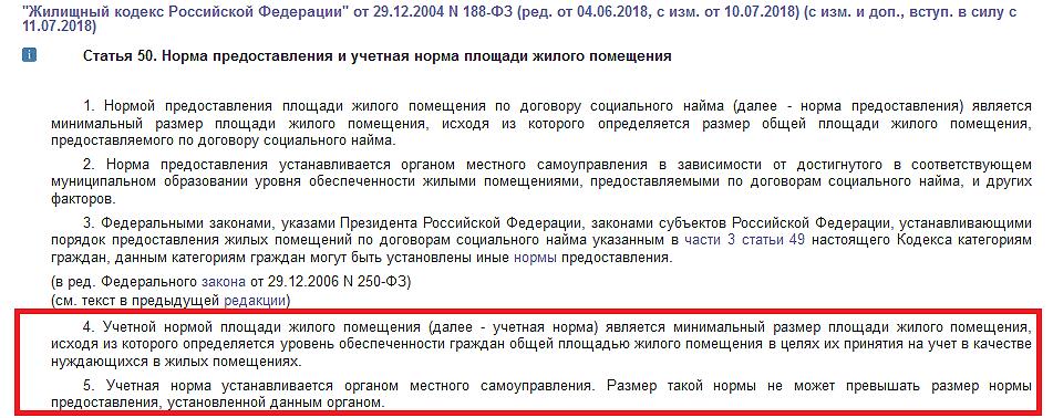 ЖК РФ Статья 50