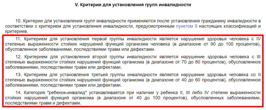 Приказ Минтруда Российской Федерации № 585н, глава 5