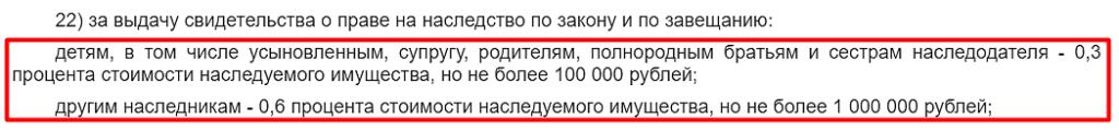 Статья 333.24 Налогового кодекса РФ