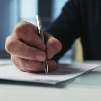 Подача заявления об установлении факта нахождения на иждивении