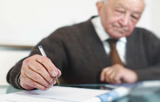 Написание доверенности в Пенсионный фонд от физического лица