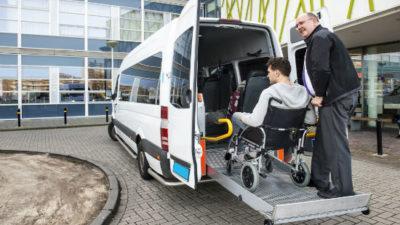 Социальное такси для людей с инвалидностью