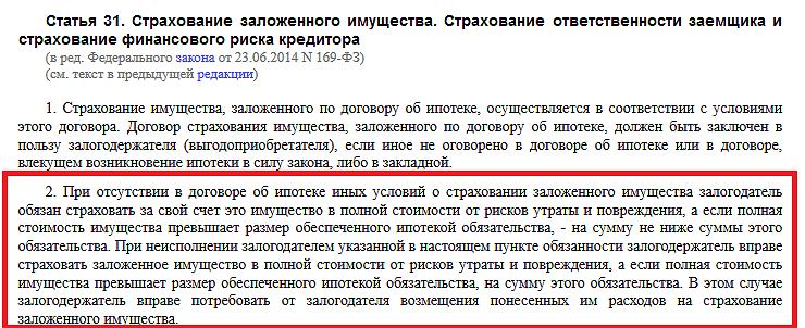 Пункт 2 статьи 31 Федерального закона 102-ФЗ