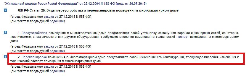 Пункт 2 статьи 25 ЖК РФ